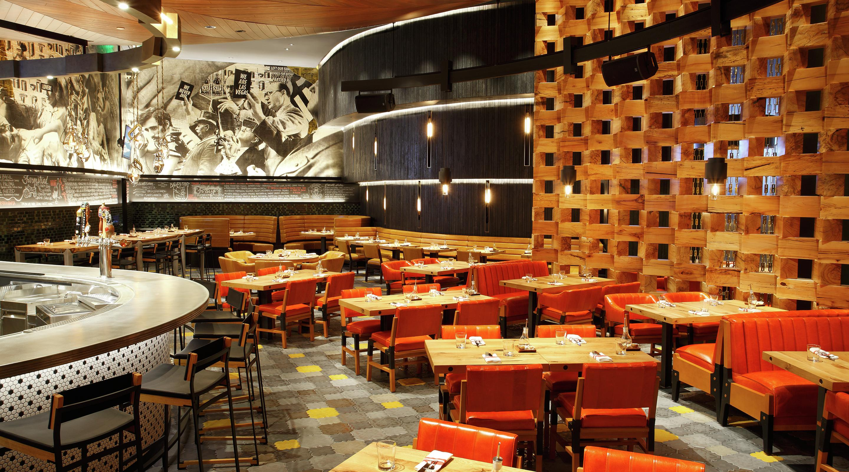 Five50 Pizza Bar, ARIA's exclusive joint venture with Chef and Restaurateur Shawn McClain.