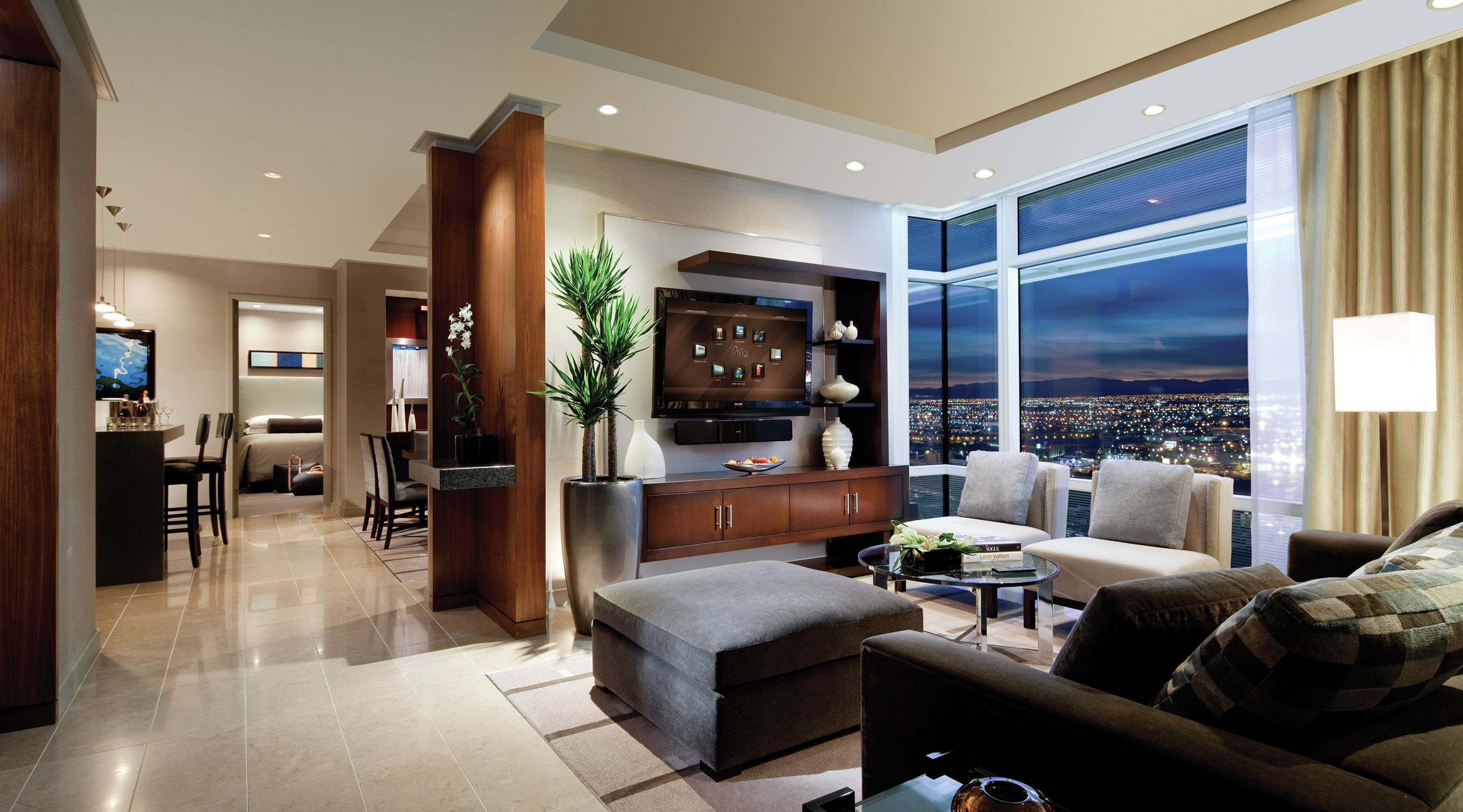 Aria Sky Suites Luxury Suites In Las Vegas Mgm Resorts