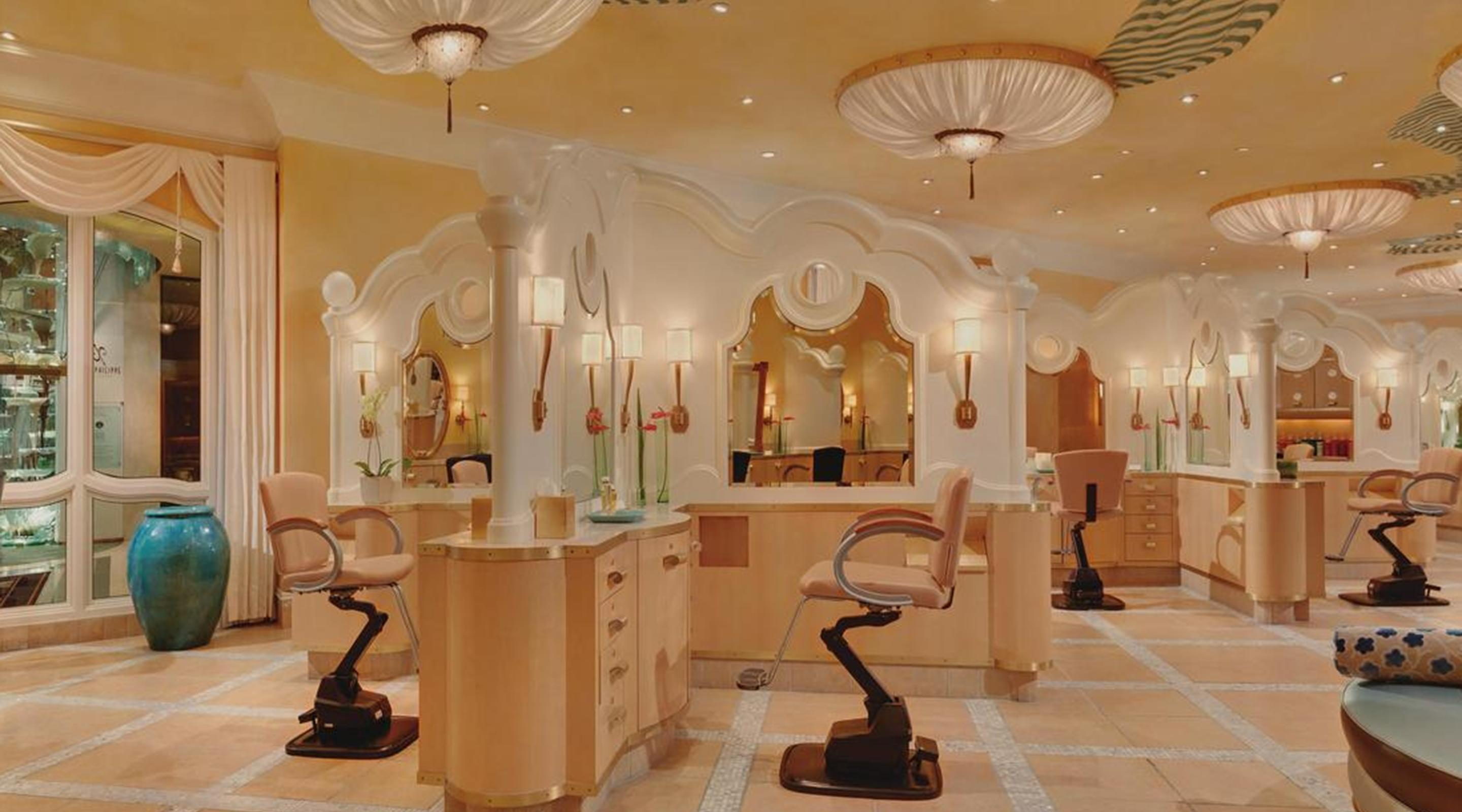Hair Salon Spa Amp Fitness Center At Bellagio Mgm Resorts