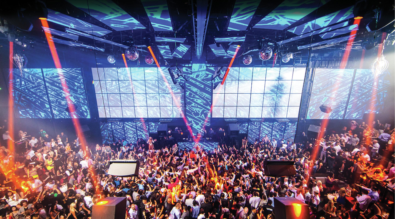 Las Vegas Nightclub Light At Mandalay Bay Mgm Resorts