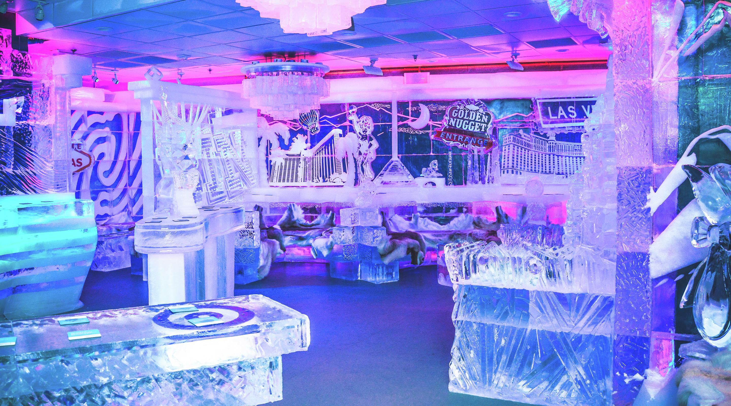 Image result for ice bar vegas