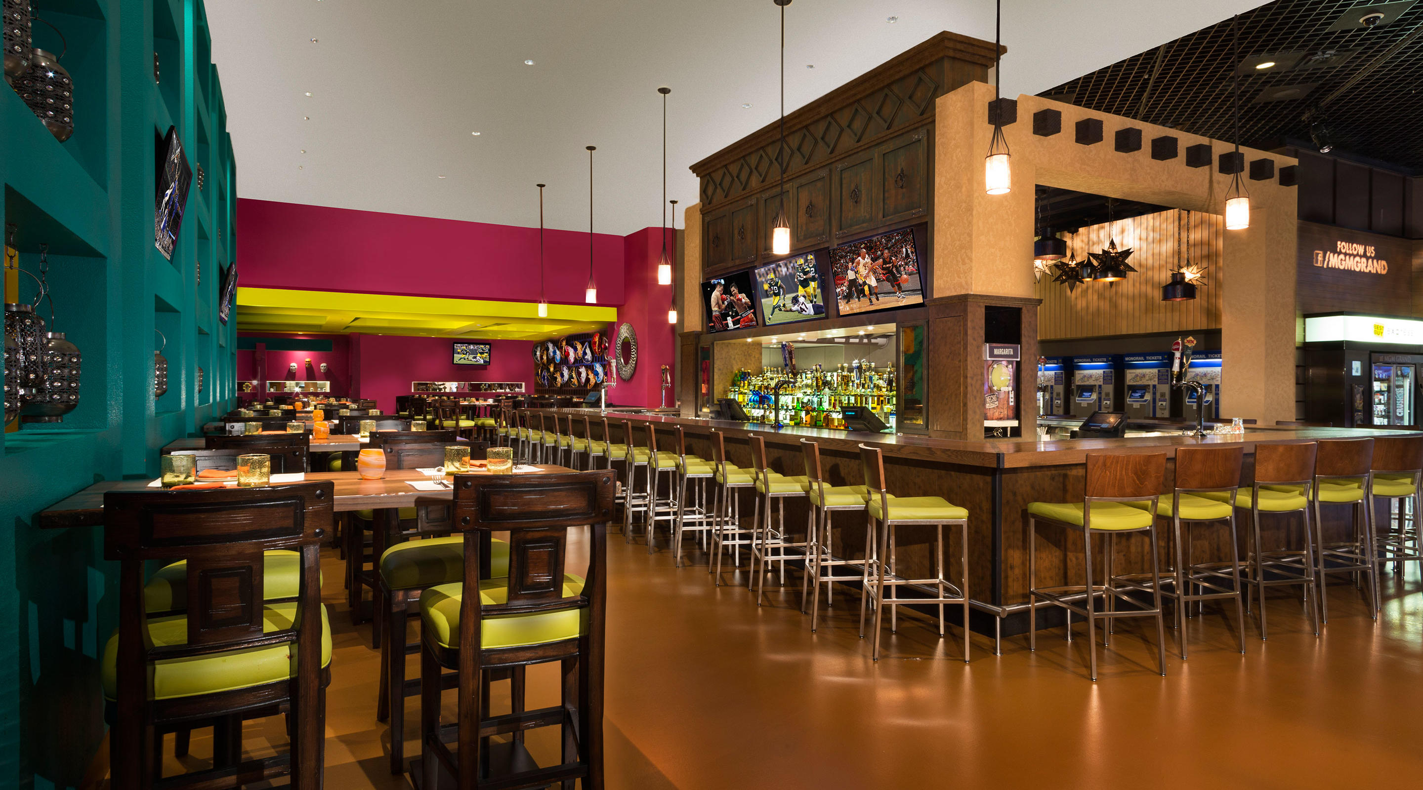 Hecho en vegas mexican grill mgm resorts for Grand bar cuisine