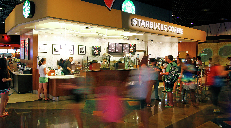 Starbucks Mgm Resorts