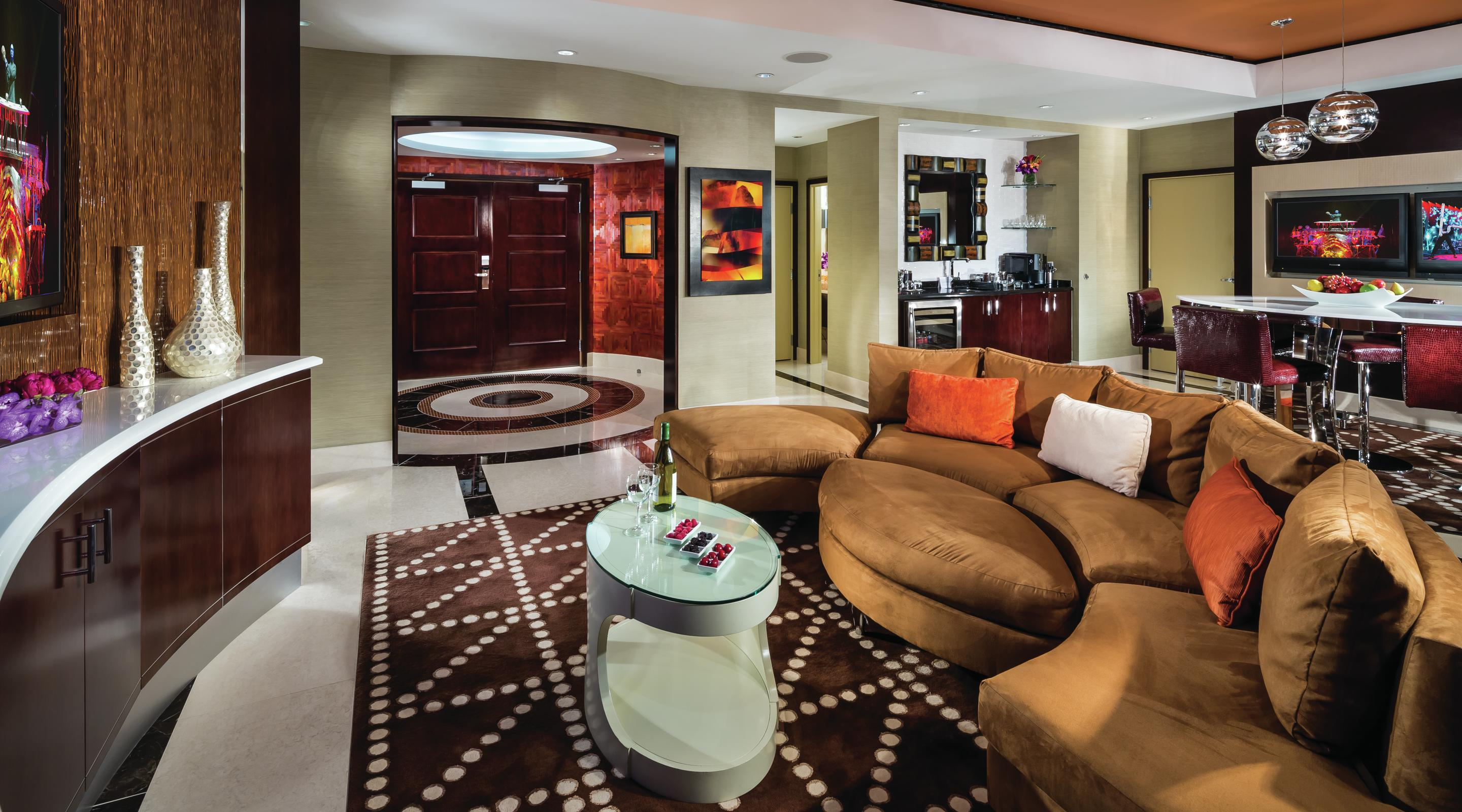 Las Vegas Suites Hotel32 Two Bedroom Penthouse Monte Carlo Resort And Casino Mgm Resorts