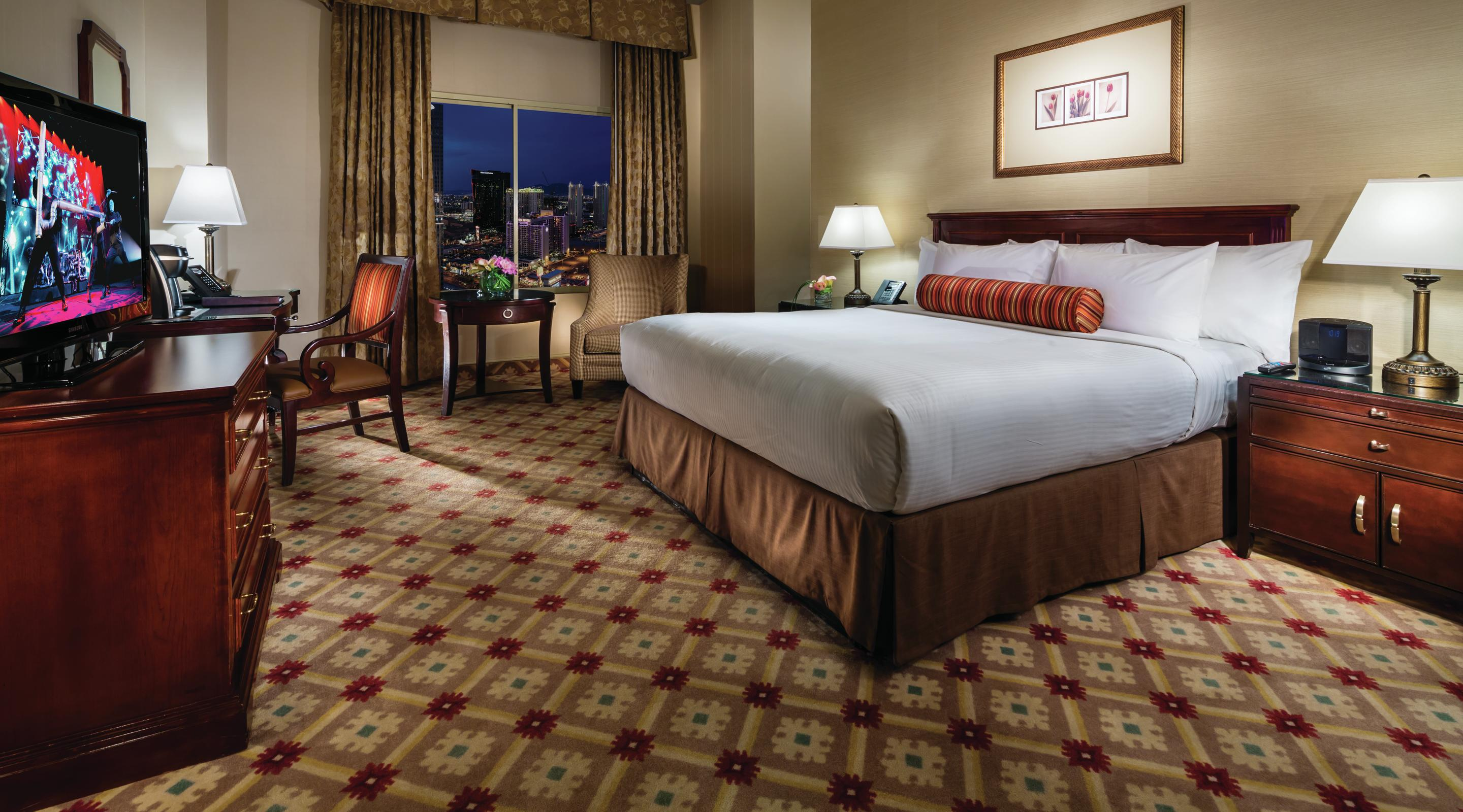 monte carlo resort and casino deluxe king room