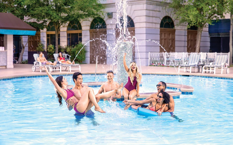 Swimming Pools - The Pool at New York-New York - MGM Resorts