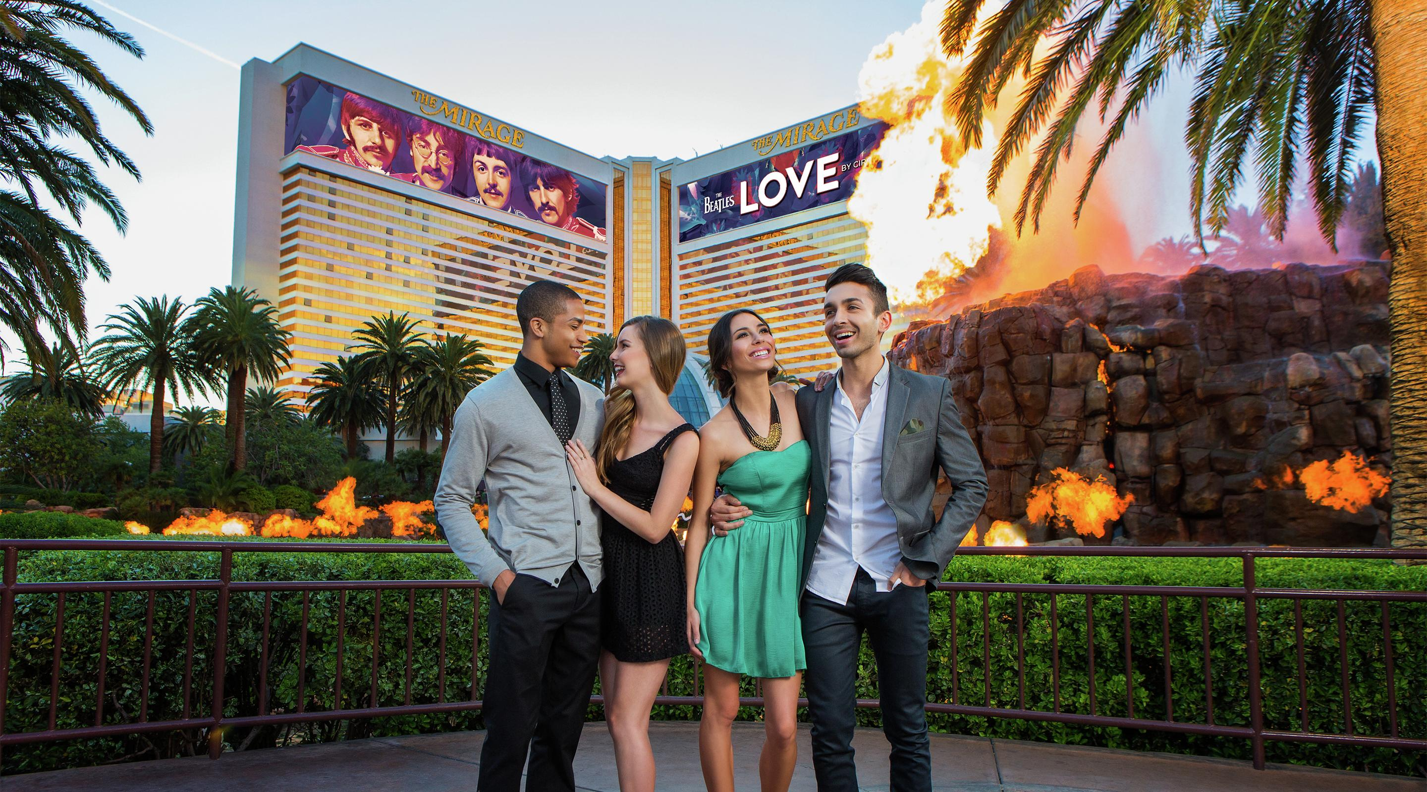 Free Las Vegas Show The Volcano At Mirage Mgm Resorts